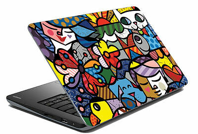 meSleep Abstract Laptop Decal - Laptop Skin- Size-14.1 to 15.6 inches