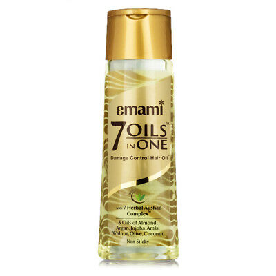 Emami 7 Oils in One Damage Control Hair Oil - 100 ml original | Free Shipping
