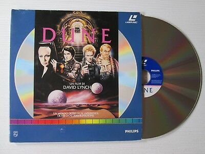 DAVID LYNCH Dune 2 X LASERDISC FILM MOVIE CULT STING LASER DISC