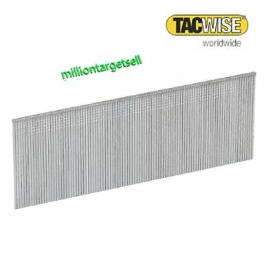 100 5000 Straight Brad Nails Gauge 18G Tacwise 10 13 15 20 25 30 32 35 40 50mm