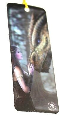 Unusual 3D Lenticular  Anne Stokes Gothic Bookmark With Two Scenes
