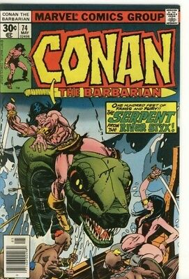 Marvel Comic Conan The Barbarian #74