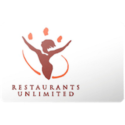 Restaurants Unlimit Gift Card $50 Value, Only $44.00! Free Shipping!