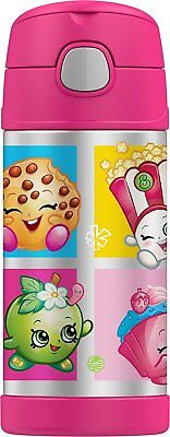 SHOPKINS STRAWBERRY KISS Thermos® FUNtainer StainlessSteel Insulated 12oz Bottle