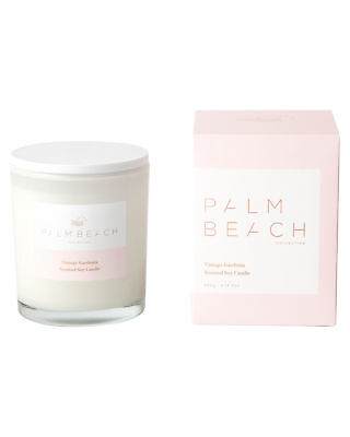 New Palm Beach Collection Women's Vintage Gardenia Candle Natural