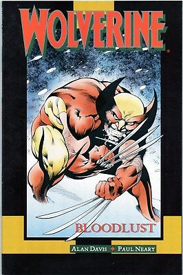 Wolverine Bloodlust Annual 2 1990 Marvel Comics NM