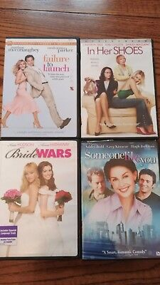 Lot of 45 LN DVDs  Flicks For Every Occasion...Romance, Comedy, Suspense...