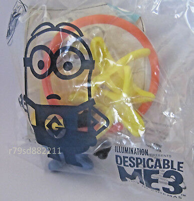 BANANA FLIPPER MINION SPIELZEUG  McDONALD's HAPPY MEAL NEU & OVP UK SERIE -RAR-