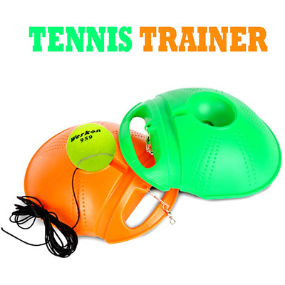 NEW tennis trainer pro increase the strength of YOUR forehands and backhand