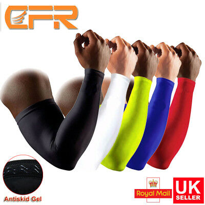 Elastic Sports Elbow Arm Brace Support Sleeve Pad Bandage Wrap Basketball Gym UK