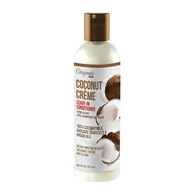 Africa S Best Originals Coconut Creme Leave In Conditioner For Dry Hair 8oz