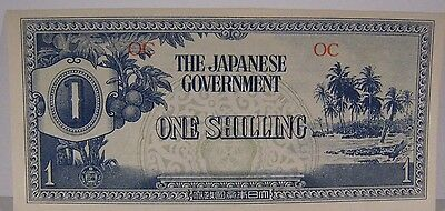 1942(ND) Oceania 1 Shilling, Japanese Occupation WWII ** FREE U.S SHIPPING **