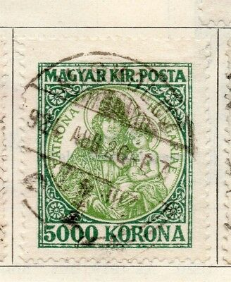 Hungary 1921 Early Issue Fine Used 5000k. 234580