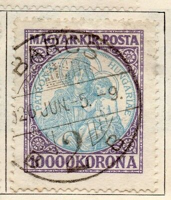 Hungary 1921 Early Issue Fine Used 10000k. 234581