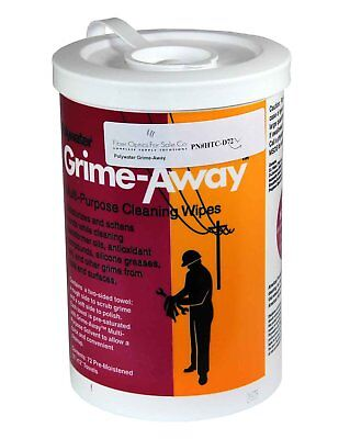 Polywater Grime-Away Multipurpose Cleaning Wipes