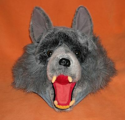 gray WOLF HAT CAP ADULT COSTUME PARTIES PARADE HALLOWEEN