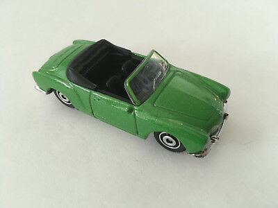 Matchbox 1969 Volkswagen Karmann Ghia Type 14 1:59 Green Diecast Model