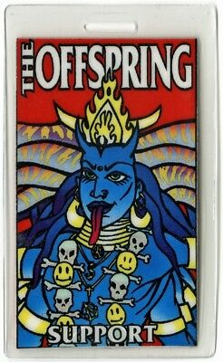 Offspring authentic 1999 concert Laminated Backstage Pass Americana Europe Tour