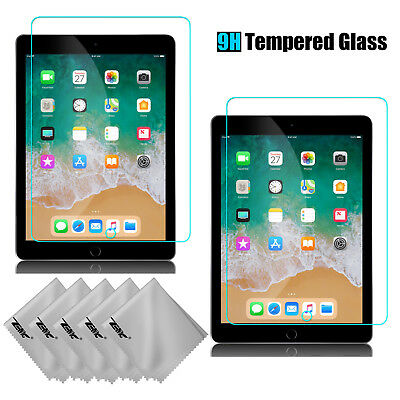 9H Tempered Glass Screen Protector Film For iPad 9.7 inch 2017/2018/5th/6th Gen