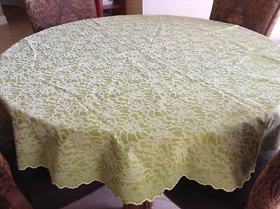 White Plastic Lace Tablecloth Table Cloth