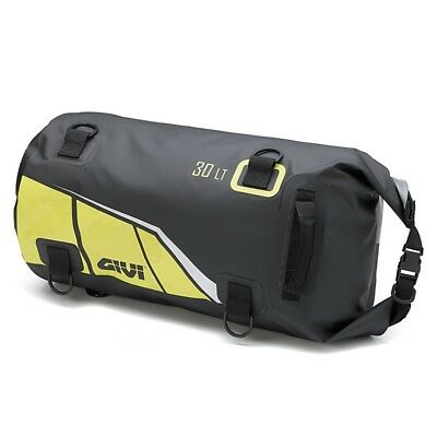 Motorcycle Roll Bag Givi EA114BY 30 liters black/yellow Motorbike Tail Bag