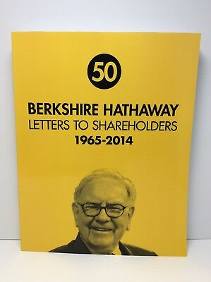 berkshire hathaway letters to shareholders 1965 2014 warren buffett paperback