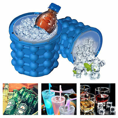 NEW HOT Ice Cube Maker Genie The Revolutionary Space Saving Genie Kitchen Tools