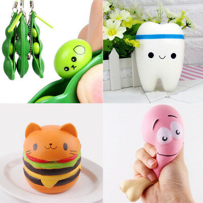 Jumbo Squishies Scented Charm Squishy Squeeze Slow Rising Reliever Fun Toy