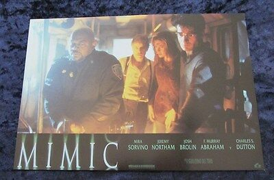 Mimic lobby card  # 8 - Jeremy Northam, Mira Sorvino, Josh Brolin