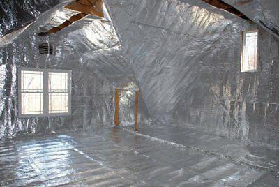 Diamond Radiant Barrier Solar Attic Foil Reflective Insulation 4x250/1000 sqft