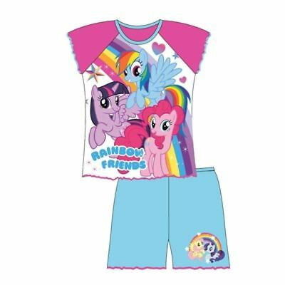 NEW Girls Toddler My Little Pony short, shortie pyjamas, pj's 1 2 3 4 5 years