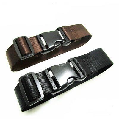 Suitcase Luggage Baggage Straps Extra Safety Travel Tie Down Belt Adjustable