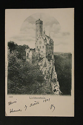 Carte postale ancienne CPA LICHTENSTEIN