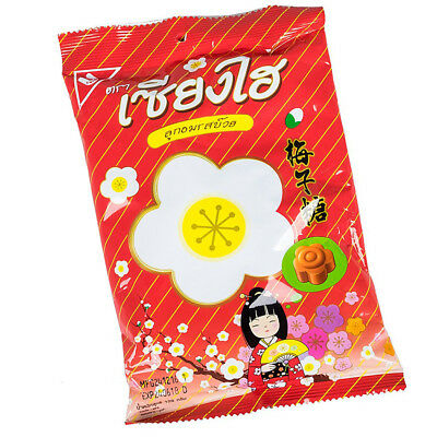 120g Sanghai Plum Flavored Thai Hard Candy Sweets Sour Salty Snack