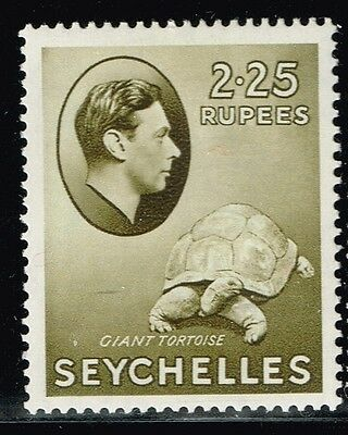 Seychelles SG# 148 - Mint Light Hinged - Appears Chalked Paper - Lot 122715