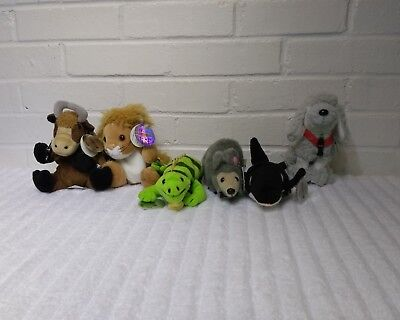 International Coca Cola Collection Stuffed Animal Plush Set of 6 NWT       (A20)