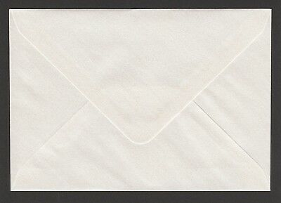 """50  129mm x 184mm  PEARL WHITE PEARL ENVELOPES   90gsm  5.0"""" x 7.2"""""""