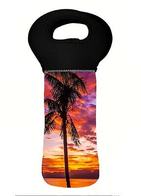 SUNSET Wine Bottle Cooler Bag