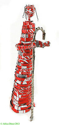 Shepherd Made From Coke Cans South African