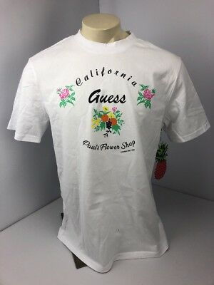 Guess Jeans x Sean Wotherspoon Farmers Market Paul s Flower Shop T-Shirt M  NWT 8a799e15a2df4