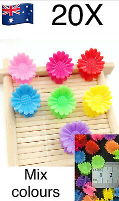 20pcs Mixed Colors Kids Baby Plastic Hair Clips Clamp Girls Hairpins Mini Claw