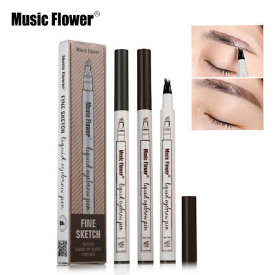 2018 Patentierter Microblading Tattoo Eyebrow Ink Pen Sketch Augenbrauenstift