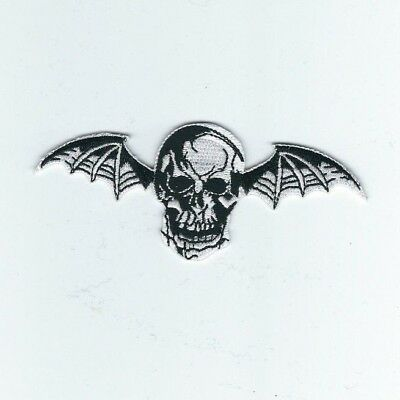 Avenged Sevenfold Bat Embroidered Patch !