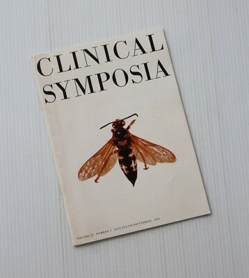 1968 CIBA Vtg CLINICAL SYMPOSIA Vol 20 Number 3  TREATMENT of INSECT BITES Ticks