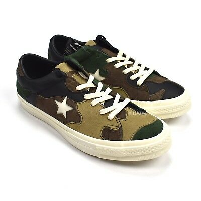 f2694821495b0 NWT Converse Sneakersnstuff SNS Camo Patchwork One Star Men's Sneakers  AUTHENTIC