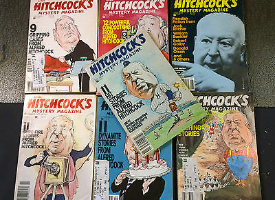 Alfred Hitchcock's Mystery Magazines lot 1979 used oop lot (7)