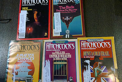 Alfred Hitchcock's Mystery Magazines lot 1982 used oop lot (5)