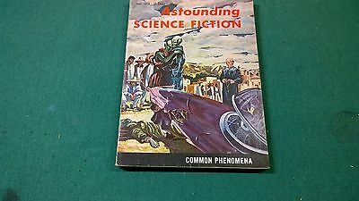 ASTOUNDING SCIENCE FICTION 1958 September, Common Phenomena, pulp digest oop