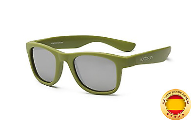 koolsun bebés y niños gafas de sol Wave Fashion 1 + | Army Green VERS piegel