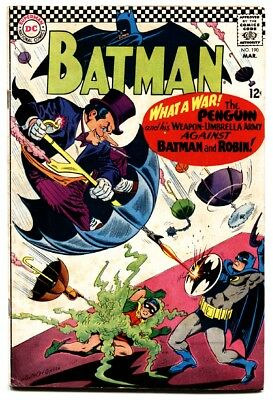 BATMAN #190 1967 DC COMICS-Penguin COVER-comic book